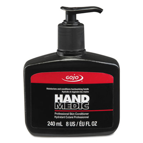 GOJO HAND MEDIC Professional Skin Conditioner  8 oz Pump Bottle  6 Carton (GOJ814506)