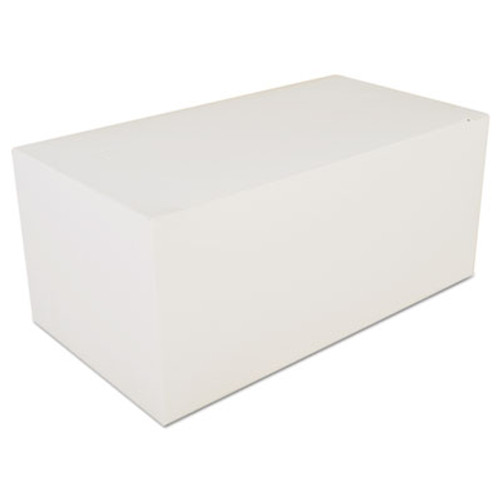 SCT Carryout Tuck Top Boxes  White  9 x 5 x 4  Paperboard  250 Carton (SCH2757)