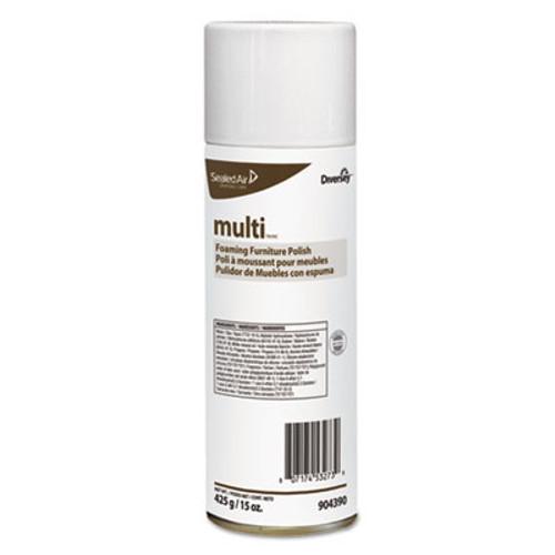 Diversey Shine-UpTM MC Multi-Surface Foaming Polish   Lemon Scent  15 oz Aerosol  12 Carton (DVO904390)
