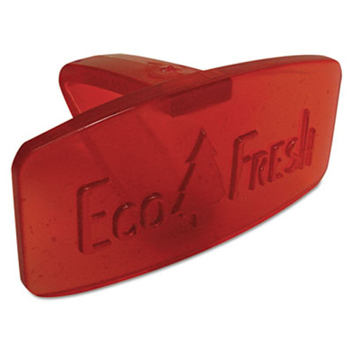 Boardwalk Eco-Fresh Bowl Clip, Spiced Apple Scent, Red, 12/Box (BWKCLIPSAP)