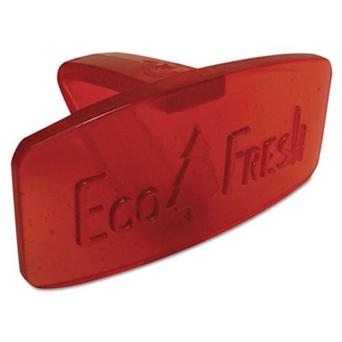 Boardwalk Eco-Fresh Bowl Clip, Spiced Apple Scent, Red, 12/Box (BWKCLIPSAP)