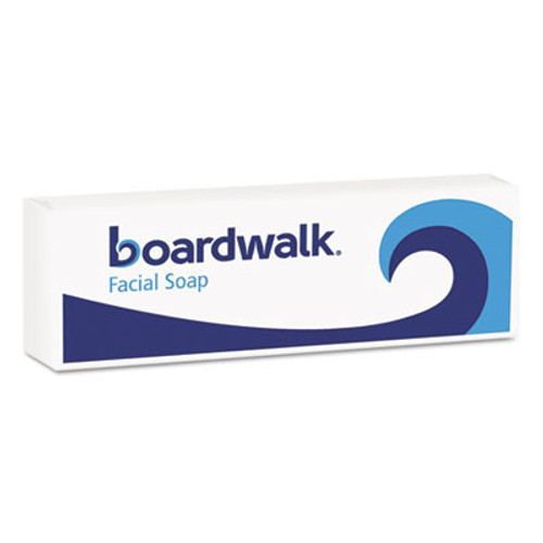 Boardwalk Face and Body Soap  Flow Wrapped  Floral Fragrance    1 2 Bar  1000 Carton (BWKNO12SOAP)