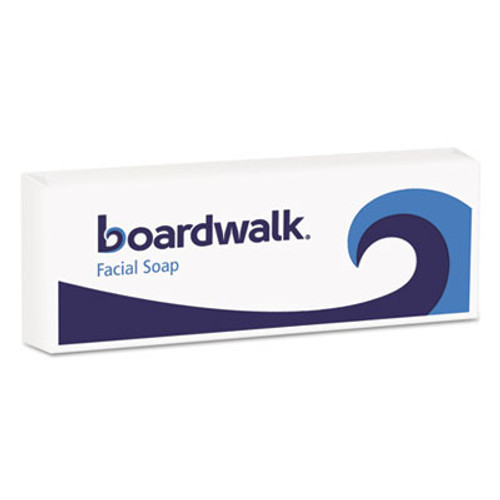 Boardwalk Face and Body Soap, Flow Wrapped, Floral Fragrance, .75oz Bar, 1000/Carton (BWKNO34SOAP)