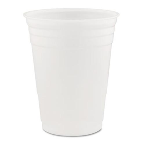 Dart Conex Translucent Plastic Cold Cups  16oz  1000 Carton (DCCP16)