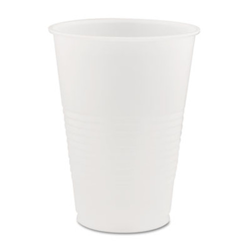 Dart Conex Galaxy Polystyrene Plastic Cold Cups  14oz  50 Sleeve  20 Bags Carton (DCCY14)