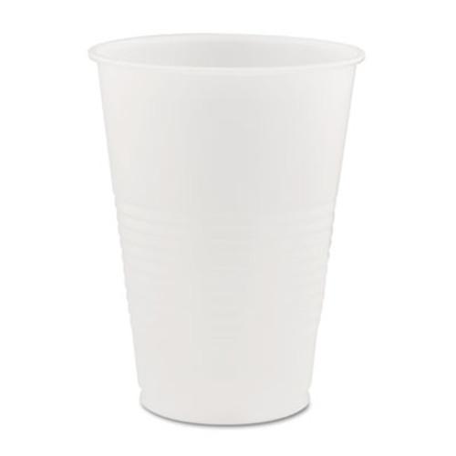 Dart Conex Galaxy Polystyrene Plastic Cold Cups  14oz  50 Sleeve  20 Bags Carton (DCCY14)
