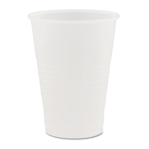 Dart Conex Galaxy Polystyrene Plastic Cold Cups  7 oz  100 Sleeve  25 Sleeves Carton (DCCY7)