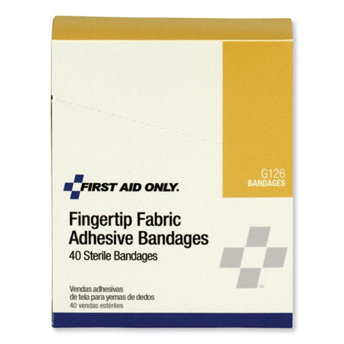 PhysiciansCare by First Aid Only First Aid Fingertip Bandages  40 Box (ACMG126)
