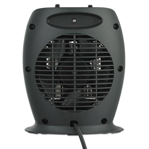 Alera Ceramic Heater  7 1 8 w x 5 7 8 d x 8 3 4 h  Black (ALEHECH09)