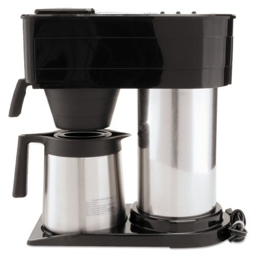 BUNN 10-Cup Velocity Brew BT Thermal Coffee Brewer  Black  Stainless Steel (BUNBT)
