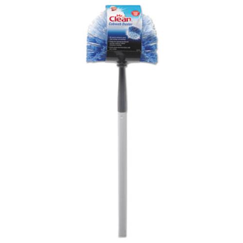 Mr. Clean Telescopic Cobweb Duster  Blue White  11  Brush  60  Handle (BUT444396)