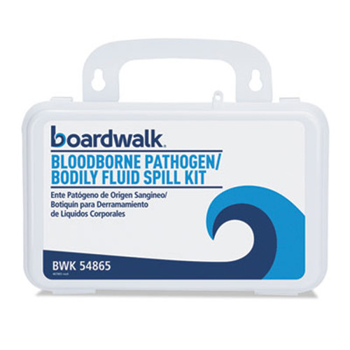 Boardwalk Bloodborne Pathogen Kit  30 Pieces  3  x 8  x 5   White (BWK54865)