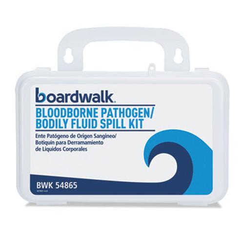 Boardwalk Bloodborne Pathogen Kit  30 Pieces  3  x 8  x 5   White (BWK54865)