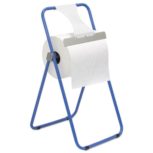 Boardwalk Jumbo Roll Dispenser  Floor Stand  Blue  16 3 8 x 20 x 33  Steel (BWK680590)