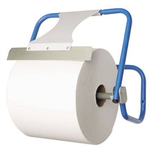 Boardwalk TASKBrand Jumbo Roll Dispenser, Wall-Mount, Blue, 16 1/2 x 11 x 15, Steel (BWK680592)
