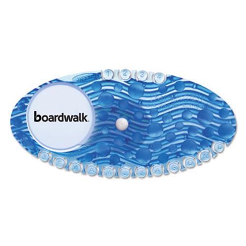 Boardwalk Curve Air Freshener  Cotton Blossom  Solid  Blue  10 Box (BWKCURVECBL)