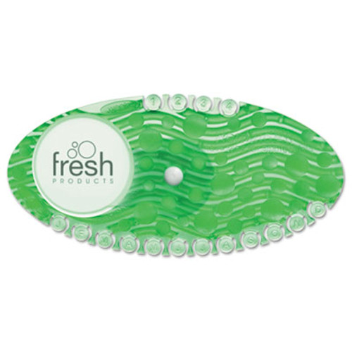Boardwalk Curve Air Freshener  Cucumber Melon  Solid  Green  10 Box (BWKCURVECME)