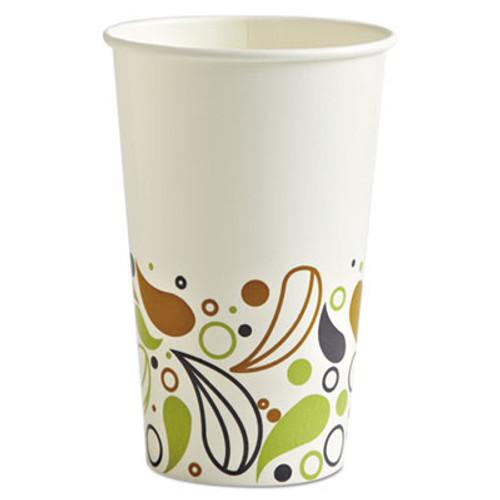 Boardwalk Deerfield Printed Paper Cold Cups  16 oz  20 Cups Sleeve  50 Sleeves Carton (BWKDEER16CCUP)