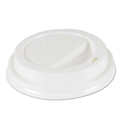 Boardwalk Deerfield Hot Cup Lids for 10oz - 16oz Cups, White, Plastic, 50/PK, 20 PK/Carton (BWKDEERHLIDW)
