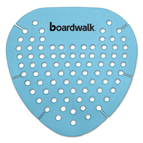 Boardwalk Gem Urinal Screen  Lasts 30 Days  Blue  Cotton Blossom Fragrance  12 Box (BWKGEMCBL)