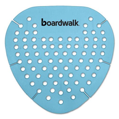 Boardwalk Gem Urinal Screen  Lasts 30 Days  Blue  Cotton Blossom Fragrance  12 Box (BWKGEMCBL)