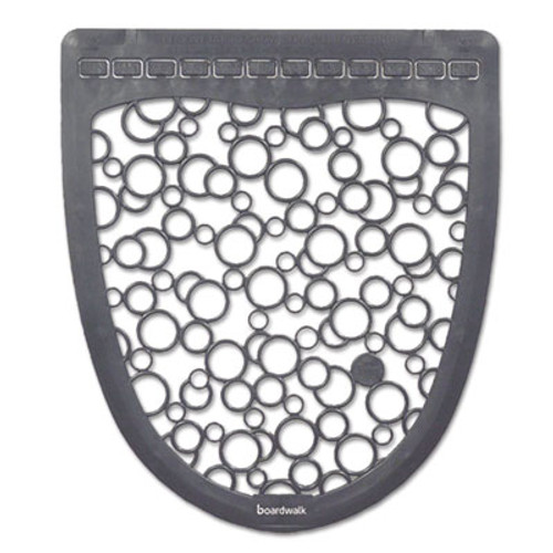 Boardwalk Urinal Mat 2.0, Rubber, 17 1/2 x 20, Gray/White, 6/Carton (BWKUMGW)