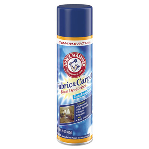 Arm & Hammer Fabric and Carpet Foam Deodorizer  Fresh Scent  15 oz Aerosol (CDC3320000514EA)
