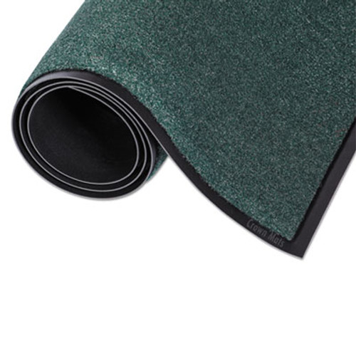 Crown Rely-On Olefin Indoor Wiper Mat  48 x 72  Evergreen (CWNGS0046EG)