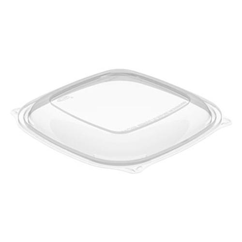 Dart PresentaBowls Pro Square Lids f 24-32oz Bowls  Clear  8 5x8 5  63 Bag  4 Bag CT (DCCC2464BDL)