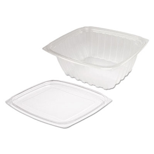 Dart ClearPac Clear Container Lid Combo-Pack  6 1 2 x 7 1 2 x 2 7  63 Pack  4 Pk Ctn (DCCC32DCPR)