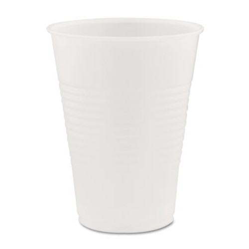 Dart Conex Galaxy Polystyrene Plastic Cold Cups  9oz  100 Sleeve  25 Sleeves Carton (DCCY9CT)