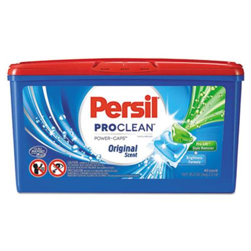 Persil ProClean Power-Caps Detergent Capsules, Original Scent, 40/Box (DIA09542EA)