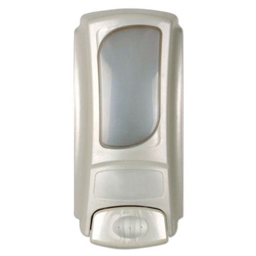 Dial Professional Eco-Smart Flex Dispenser for 15 oz Refills, 4 x 3.1 x 7.9, Pearl, 6/Ctn (DIA15047CT)