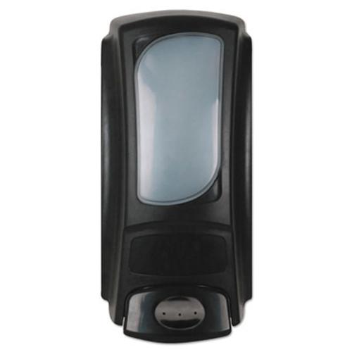 Dial Professional Hand Care Anywhere Flex Bag Dispenser  15 oz  4  x 3 1  x 7 9   Black  6 Carton (DIA15055CT)