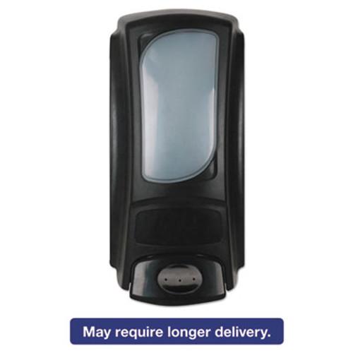 Dial Professional Eco-Smart Flex Dispenser for 15 oz Refills, 4 x 3.1 x 7.9, Black, 6/Ctn (DIA15055CT)