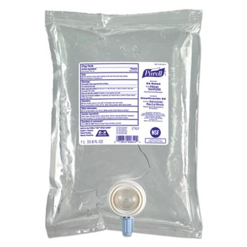 PURELL Advanced E3-Rated Instant Hand Sanitizer Gel  Fragrance-Free  1000 mL Refill  8 Carton (GOJ216308)