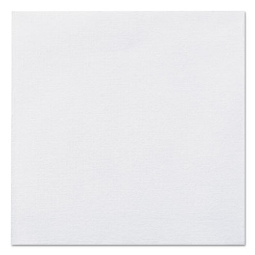 Hoffmaster Linen-Like Beverage Napkins  1-Ply  10 x 10  White  125 Pack  8 Packs Carton (HFM046118)