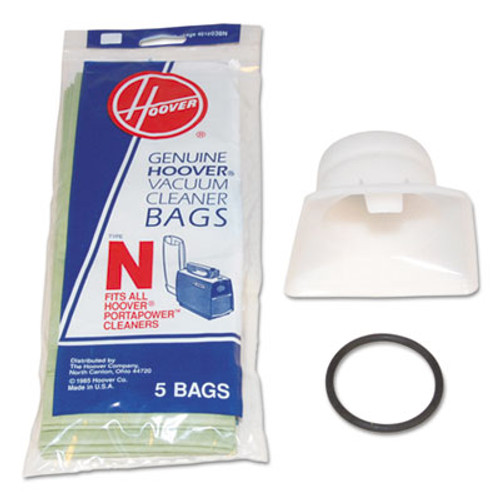 Hoover Commercial Bag Adapter Kit, White/Black (HVR4010050N)