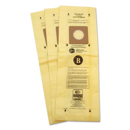 Hoover Commercial Disposable Vacuum Bags, Allergen B, 3/Carton (HVR4010103B)