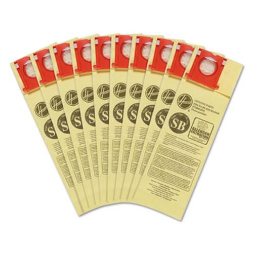 Hoover Commercial Disposable Vacuum Bags  Allergen SB  10PK EA (HVRAH10170)