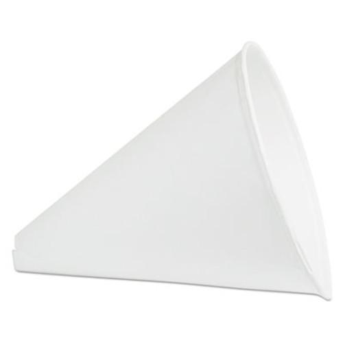Konie Paper Cone Funnels, 10 oz, White, 1000/Carton (KCI100KRF)