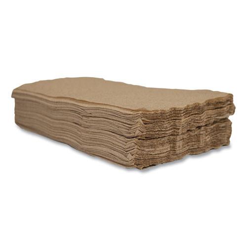 Morcon Tissue Valay Interfolded Napkins  2-Ply  6 5 x 8 25  Kraft  6 000 Carton (MOR5000VN)