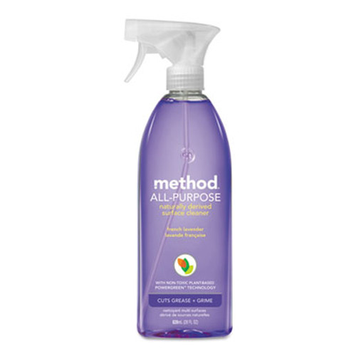 Method All Surface Cleaner  French Lavender  28 oz Bottle  8 Carton (MTH00005CT)
