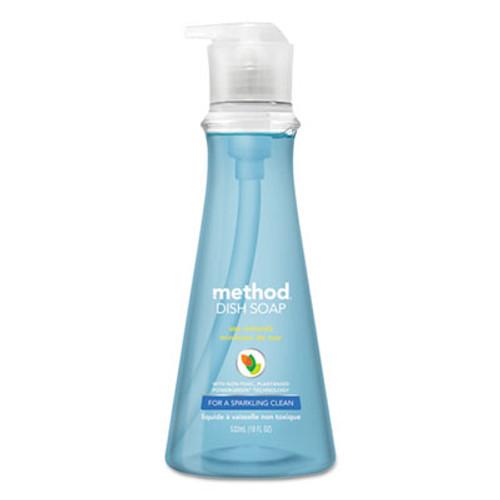 Method Dish Soap  Sea Minerals  18 oz Pump Bottle  6 Carton (MTH00734CT)