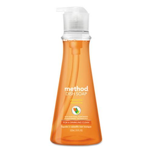 Method Dish Soap  Clementine  18 oz Pump Bottle  6 Carton (MTH00735CT)
