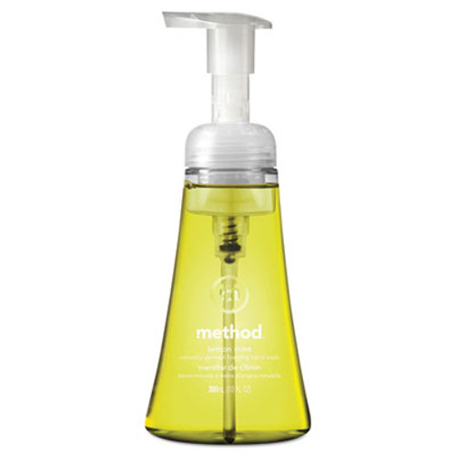 Method Foaming Hand Wash  Lemon Mint  10 oz Pump Bottle  6 Carton (MTH01162CT)