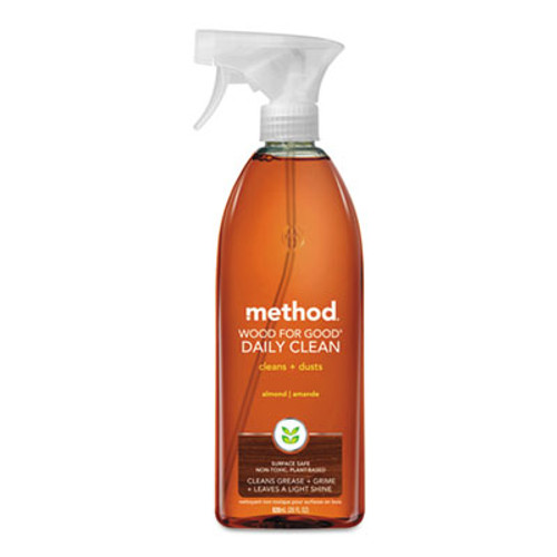 Method Wood for Good Daily Clean  28 oz Spray Bottle  8 Carton (MTH01182CT)