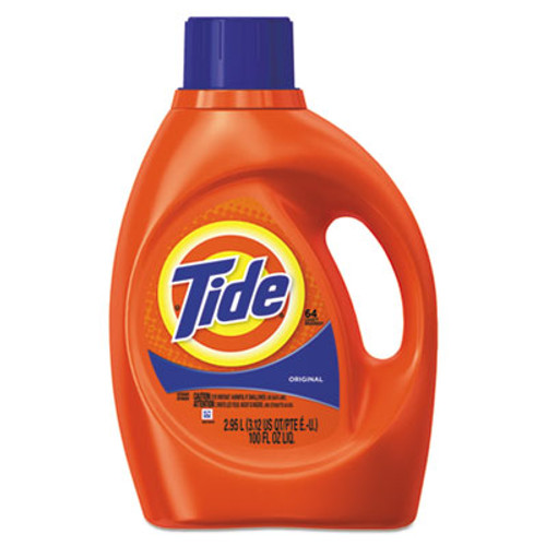 Tide Ultra Liquid Laundry Detergent, Original Fresh Scent, 100 oz Bottle (PGC13882)