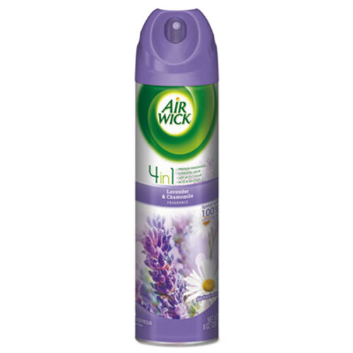 Air Wick Aerosol Air Freshener  Lavender   Chamomile  8 oz Can (RAC05762EA)