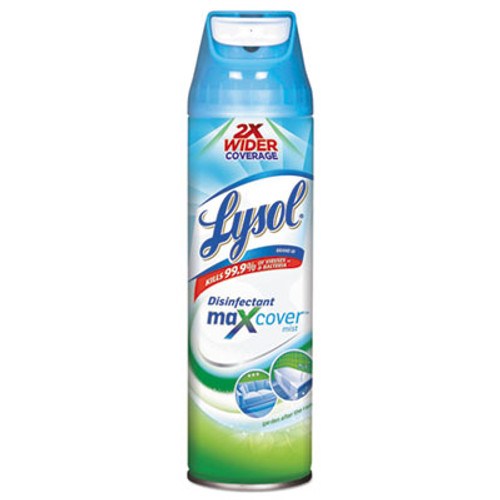 LYSOL Brand Max Cover Disinfectant Mist, Garden After Rain, 15 oz Aerosol (RAC94122EA)